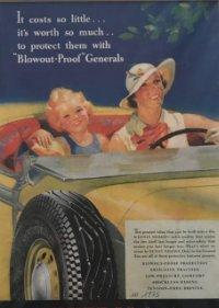 1935 Publicidad The General Dual