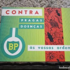 Carteles Publicitarios: SUECIA - BRITISH PETROLEUM - CARTEL FITOSANITARIOS EN PORTUGUES 40X30CM, EXCELENTE + INFO FOTOS 1S.. Lote 155525826