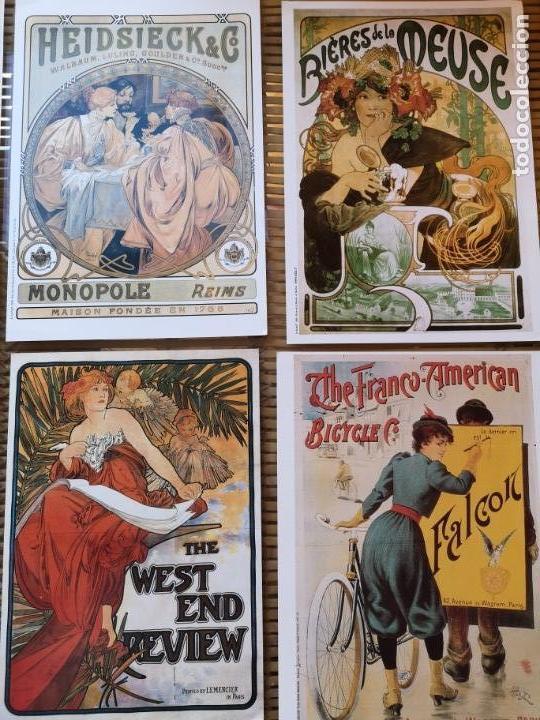 Carteles Publicitarios: 6 LLAMATIVOS CARTELES PEQUEÑOS PUBLICITARIOS FRANCESES ,AÑOS 90 - Foto 4 - 156891018