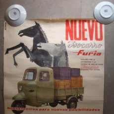 Carteles Publicitarios: MOTOCARRO. Lote 159144042