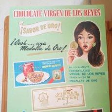 Carteles Publicitarios: CHOCOLATE VIRGEN DE LOS REYES.. Lote 161892018