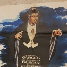 Carteles Publicitarios: EL MUNDO DE LOS VAMPIROS.CARTEL.. Lote 162635032