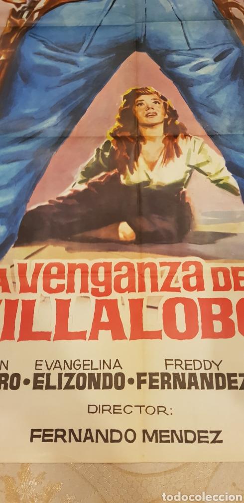 Carteles Publicitarios: LA VENGANZA DE LOS VILLALOBOS. CARTEL. - Foto 2 - 162959374