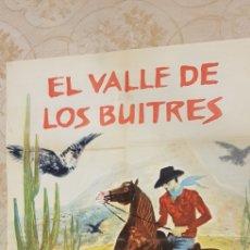 Carteles Publicitarios: EL VALLE DE LOS BUITRES.CARTEL.. Lote 162961138