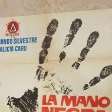 Carteles Publicitarios: LA MANO NEGRA,CARTEL.. Lote 163783661