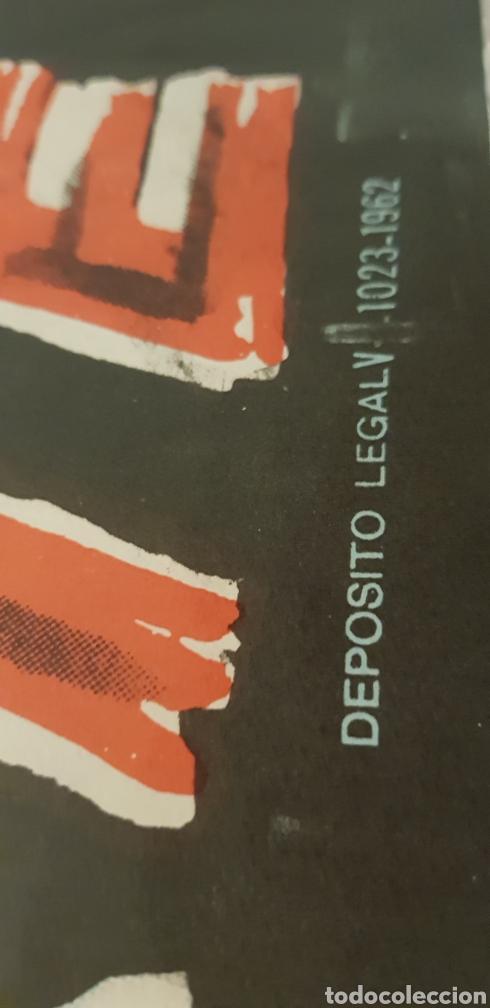 Carteles Publicitarios: CUANDO VILLA ES LA MUERTE.cartel litografico,1962 - Foto 2 - 165968698