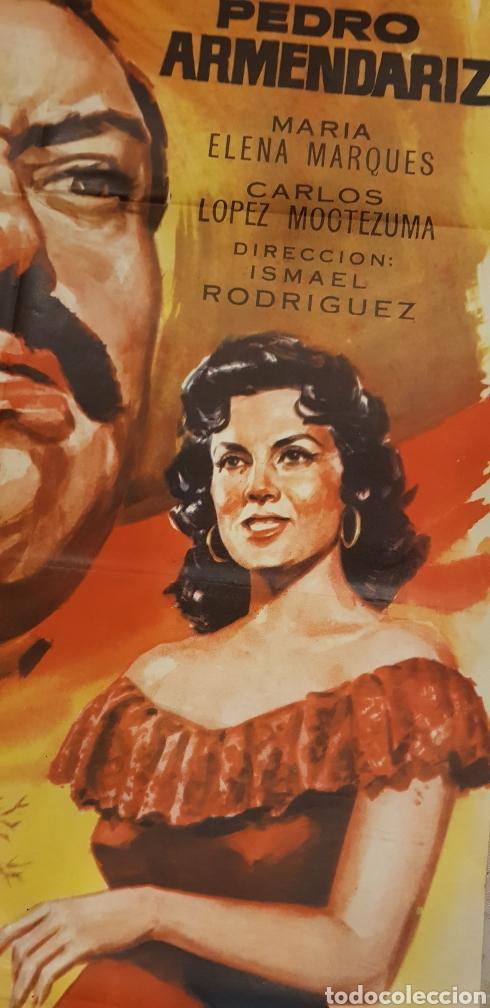 Carteles Publicitarios: CUANDO VILLA ES LA MUERTE.cartel litografico,1962 - Foto 3 - 165968698
