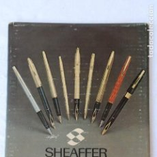 Carteles Publicitarios: SHEAFFER- CARTEL PUBLICITARIO - DISPLAY DE CARTON. Lote 166453926