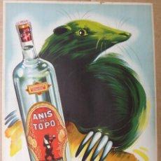 Advertising Posters - CARTEL POSTER PUBLICIDAD ANIS EL TOPO , GIL , ORIGINAL , RB - 168705462
