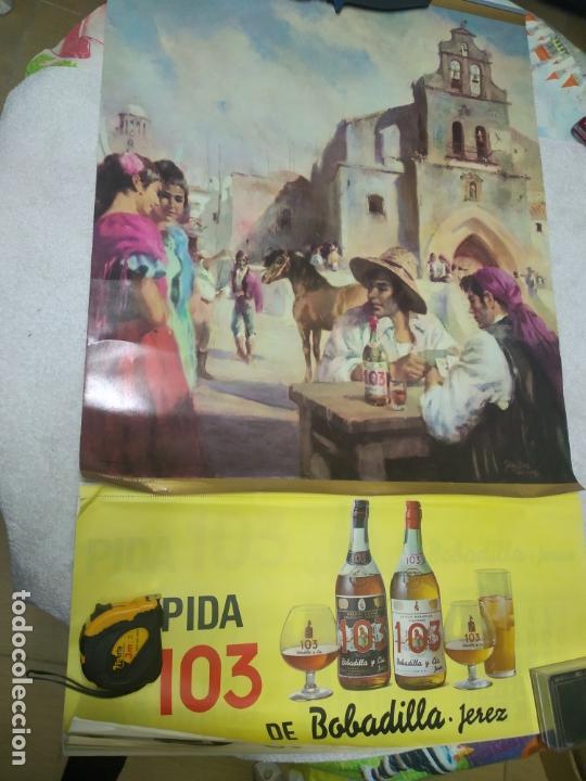 CALENDARIO PARED AÑO 1971 TEMATICA LICORES - LAMINA BRANDY 103 (CALENDARIO A ESTRENAR) (Coleccionismo - Carteles Gran Formato - Carteles Publicitarios)