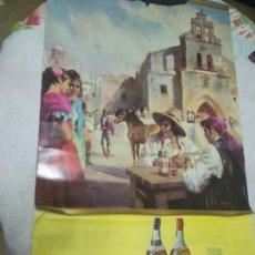 Carteles Publicitarios: CALENDARIO PARED AÑO 1971 TEMATICA LICORES - LAMINA BRANDY 103 (CALENDARIO A ESTRENAR). Lote 169119200