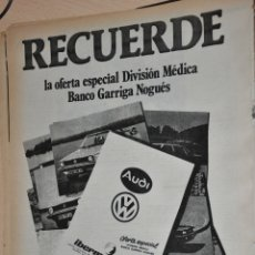 Carteles Publicitarios: HOJA PUBLICIDAD IBERMOTOR BARCELONA. Lote 170182420