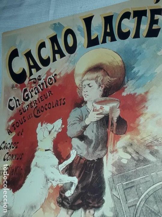 Carteles Publicitarios: Cartel Cacao Lactré Ch. Gravier Editions Ephi Paris 1996 - Foto 5 - 171246040