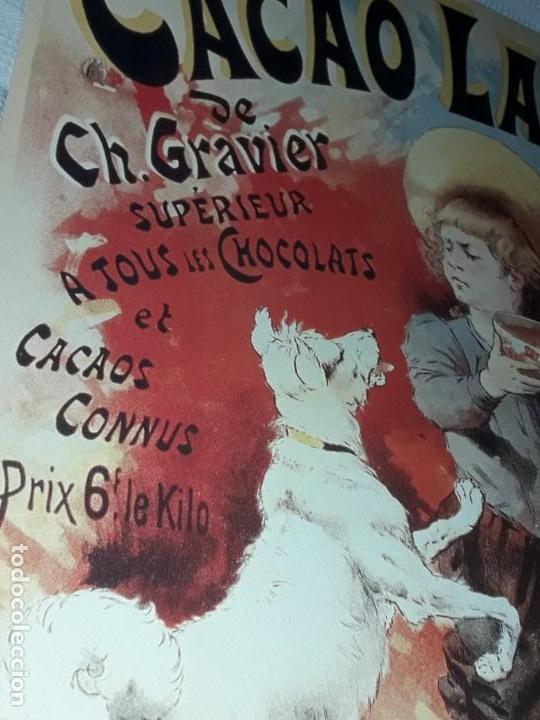 Carteles Publicitarios: Cartel Cacao Lactré Ch. Gravier Editions Ephi Paris 1996 - Foto 7 - 171246040
