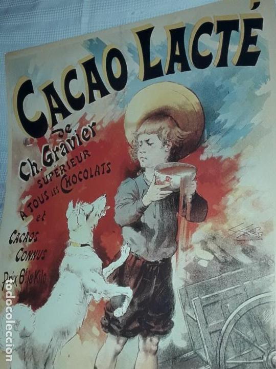 Carteles Publicitarios: Cartel Cacao Lactré Ch. Gravier Editions Ephi Paris 1996 - Foto 9 - 171246040