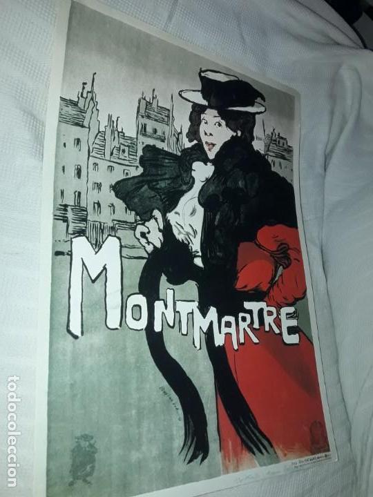 Carteles Publicitarios: Cartel Montmartre Editions Ephi Paris - Foto 2 - 171262450