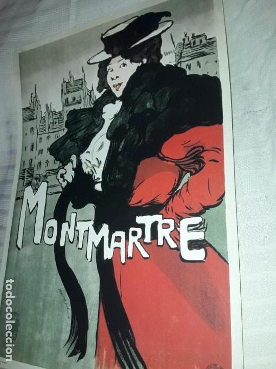 Carteles Publicitarios: Cartel Montmartre Editions Ephi Paris - Foto 3 - 171262450