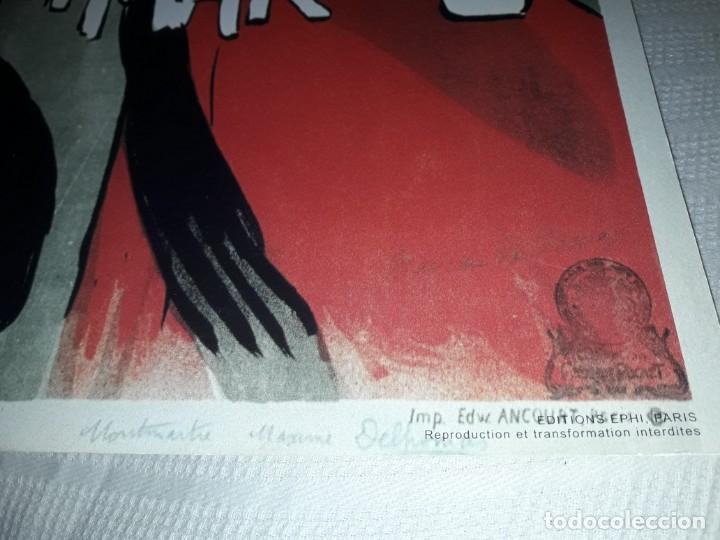 Carteles Publicitarios: Cartel Montmartre Editions Ephi Paris - Foto 4 - 171262450