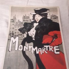 Carteles Publicitarios: CARTEL MONTMARTRE EDITIONS EPHI PARIS. Lote 171262450
