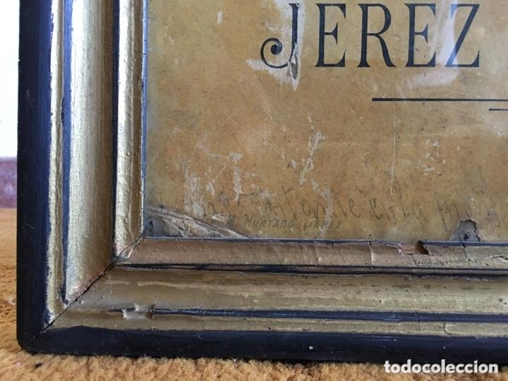 Carteles Publicitarios: Cartel publicidad Cognac Sanchez Romate Jerez Duque de Almodovar del Rio + carpintería San José - Foto 2 - 173659148