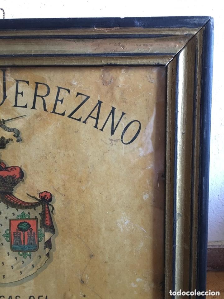 Carteles Publicitarios: Cartel publicidad Cognac Sanchez Romate Jerez Duque de Almodovar del Rio + carpintería San José - Foto 4 - 173659148