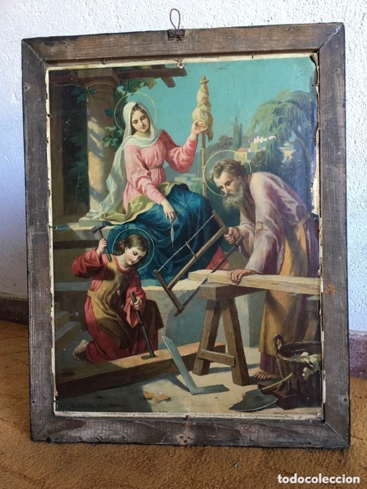 Carteles Publicitarios: Cartel publicidad Cognac Sanchez Romate Jerez Duque de Almodovar del Rio + carpintería San José - Foto 7 - 173659148