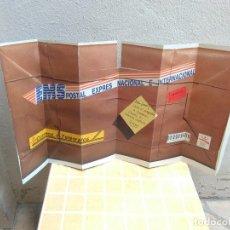 Carteles Publicitarios: PARASOL DE CARTON BARCELONA 92 CORREOS Y TELEGRAFOS. Lote 173864937