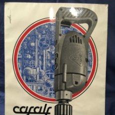 Carteles Publicitarios: CARTEL PUBLICITARIO TALLERES CASALS, S.L. 1962 DISEÑADO POR MORILLAS, BUEN ESTADO 40X28 CM. Lote 173992087