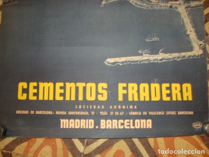 Carteles Publicitarios: CEMENTOS FRADERA - Foto 2 - 175545017