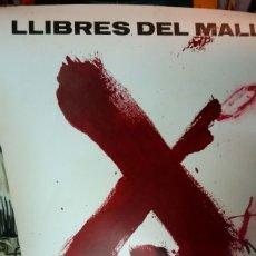 Carteles Publicitarios: TAPIES. CARTEL PROMOCIONAL DE LLIBRES DEL MALL.. Lote 175947578
