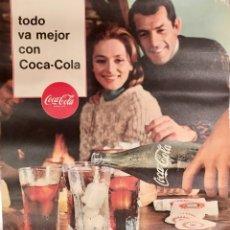 Carteles Publicitarios: CARTEL, POSTER COCA COLA, VINTAGE AÑOS 60. Lote 177523820