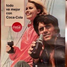 Affissi Pubblicitari: CARTEL POSTER COCA COLA AÑOS 60. Lote 177523867