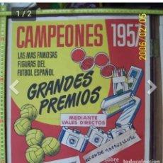 Carteles Publicitarios: CARTEL PUBLICITARIOS CAMPEONES. Lote 177655870