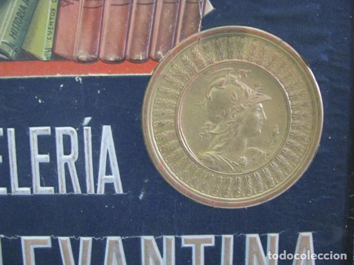Carteles Publicitarios: CARTEL IMPRENTA Y PAPELERIA GRÁFICA LEVANTINA. ALICANTE. CON RELIEVES - Foto 4 - 178277367