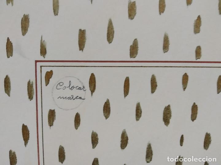 Carteles Publicitarios: CHOCOLATES BARCAROLA, GRANADA. PUBLICIDAD, ORIGINAL PINTADO A MANO - Foto 3 - 181398535