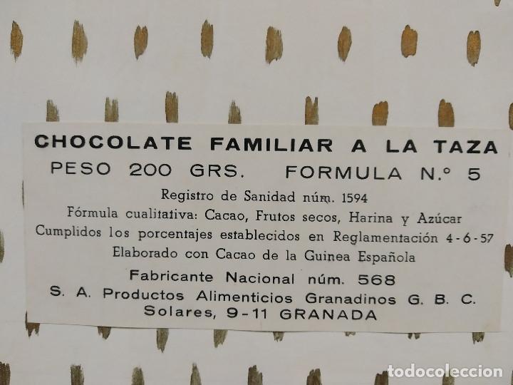 Carteles Publicitarios: CHOCOLATES BARCAROLA, GRANADA. PUBLICIDAD, ORIGINAL PINTADO A MANO - Foto 5 - 181398535