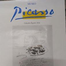 Carteles Publicitarios: CARTEL MUSEO PICASSO COLECCION EUGENIO ARIAS BUITRAGO DEL LOZOYA. Lote 181957452