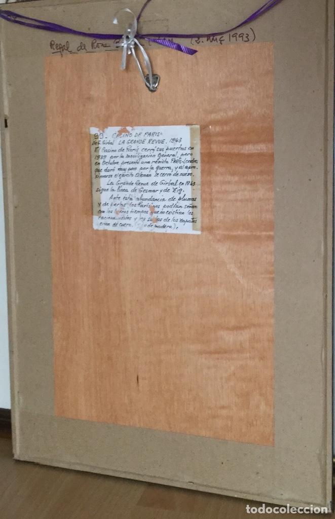 Carteles Publicitarios: Cartel del Casino de Paris enmarcado - Foto 4 - 182973746