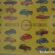 Carteles Publicitarios: MODELOS DE AUTOMOVIL 28 X 19 CM - PORTAL DEL COL·LECCIONISTA *****. Lote 182987016