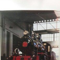 Carteles Publicitarios: CARTEL EXPOSICION 1987, EL TREN,ORGANIZADA EN ZARAGOZA, 77X56.. Lote 183591766