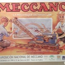 Carteles Publicitarios: CARTEL XVII EXPOSICION NACIONAL DE MECANO, UNICO EN TODO COLECCION.. Lote 183592863