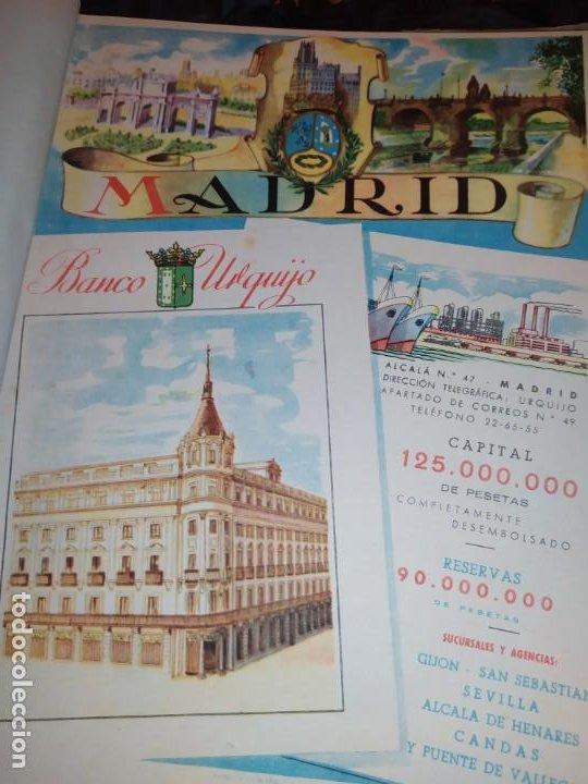 UNICO ENCUADERNADO MAPAS PROVINCIAS CON PUBLICIDAD 52 LÁMINAS MAPA PRINCIPALES FERROCARRILES AÑOS 50 (Coleccionismo - Carteles Gran Formato - Carteles Publicitarios)