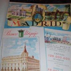 Carteles Publicitarios: UNICO ENCUADERNADO MAPAS PROVINCIAS CON PUBLICIDAD 52 LÁMINAS MAPA PRINCIPALES FERROCARRILES AÑOS 50. Lote 183740102