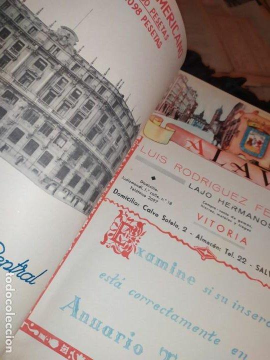 Carteles Publicitarios: UNICO ENCUADERNADO MAPAS PROVINCIAS CON PUBLICIDAD 52 LÁMINAS MAPA PRINCIPALES FERROCARRILES AÑOS 50 - Foto 7 - 183740102