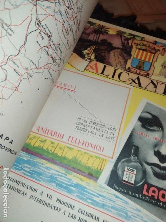 Carteles Publicitarios: UNICO ENCUADERNADO MAPAS PROVINCIAS CON PUBLICIDAD 52 LÁMINAS MAPA PRINCIPALES FERROCARRILES AÑOS 50 - Foto 9 - 183740102