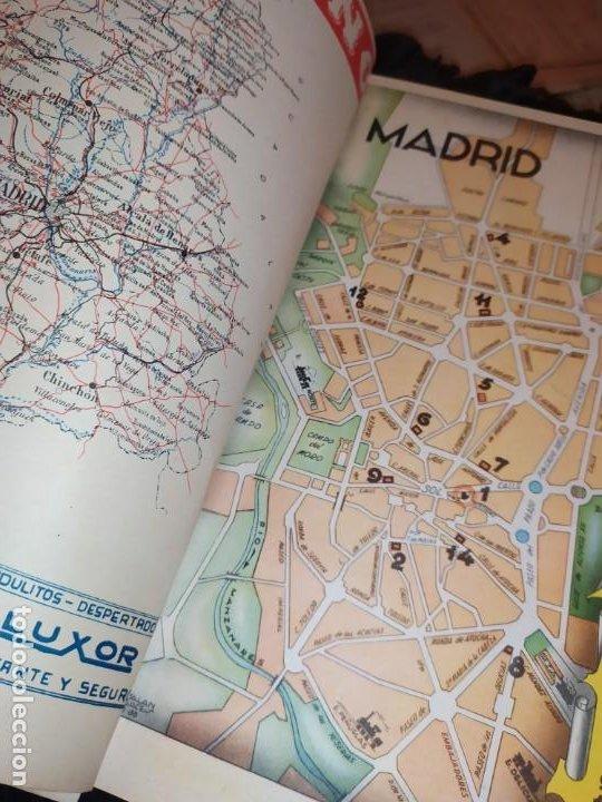 Carteles Publicitarios: UNICO ENCUADERNADO MAPAS PROVINCIAS CON PUBLICIDAD 52 LÁMINAS MAPA PRINCIPALES FERROCARRILES AÑOS 50 - Foto 13 - 183740102