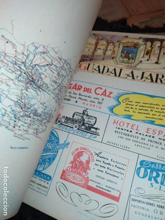 Carteles Publicitarios: UNICO ENCUADERNADO MAPAS PROVINCIAS CON PUBLICIDAD 52 LÁMINAS MAPA PRINCIPALES FERROCARRILES AÑOS 50 - Foto 26 - 183740102