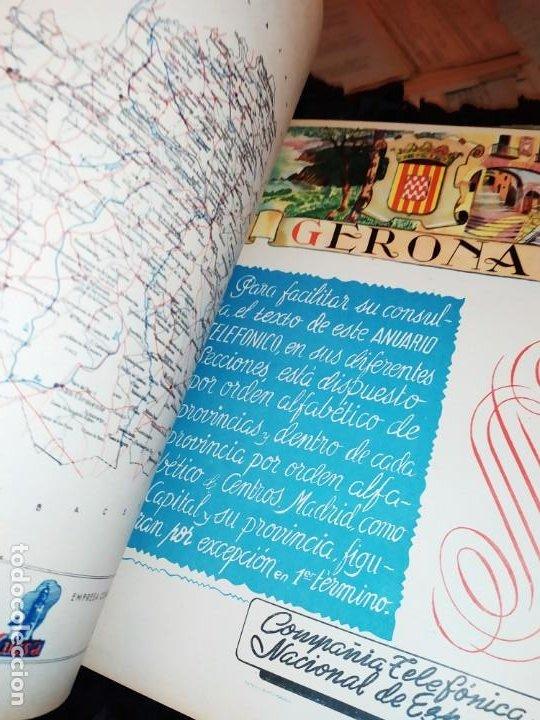 Carteles Publicitarios: UNICO ENCUADERNADO MAPAS PROVINCIAS CON PUBLICIDAD 52 LÁMINAS MAPA PRINCIPALES FERROCARRILES AÑOS 50 - Foto 27 - 183740102