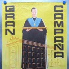 Carteles Publicitarios: CARTEL SEMINARIO - GRAN CAMPAÑA, AÑOS 1960 - LITOGRAFIA, GRAFICAS VALENCIA. Lote 183936712