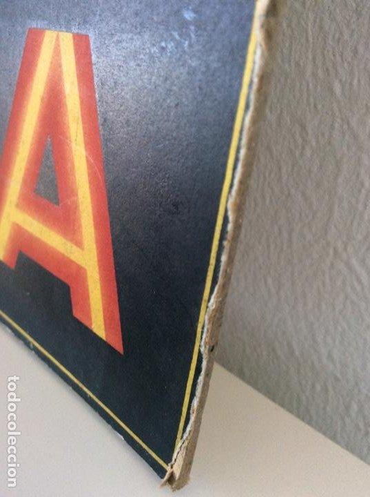 Carteles Publicitarios: CARTEL EXPOSITOR ORIGINAL DE LOS AÑOS 40 PASTILLAS VALDA - Foto 4 - 186244233